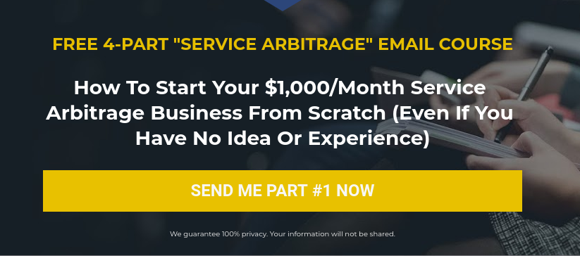 Service Arbitrage Email Course