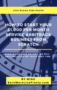 how to start your $1000 per month service arbitrage business from scratch