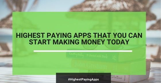 highest paying app